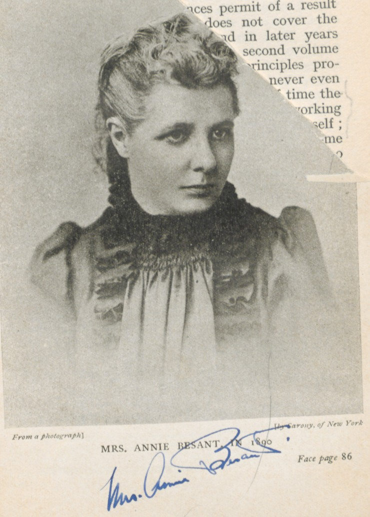 ANNIE BESANT - ANGEL OF INDIA . WORKED FOR SOCIAL, CULTURAL, RELIGIOUS HARMONY BETWEEN EAST  AND  WEST.