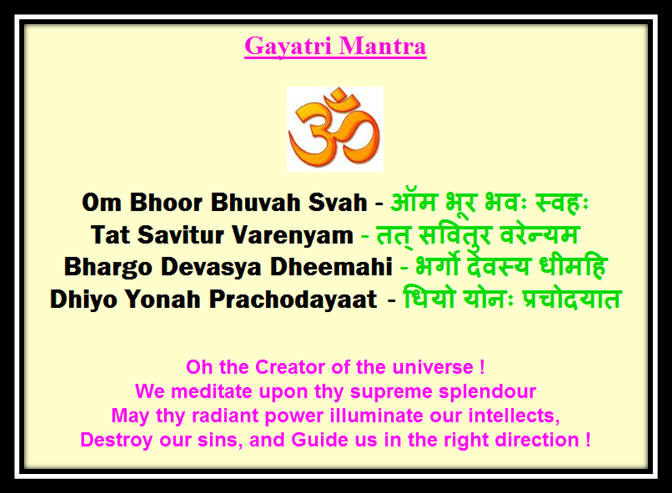 bharat darshan gayatri source of knowledge