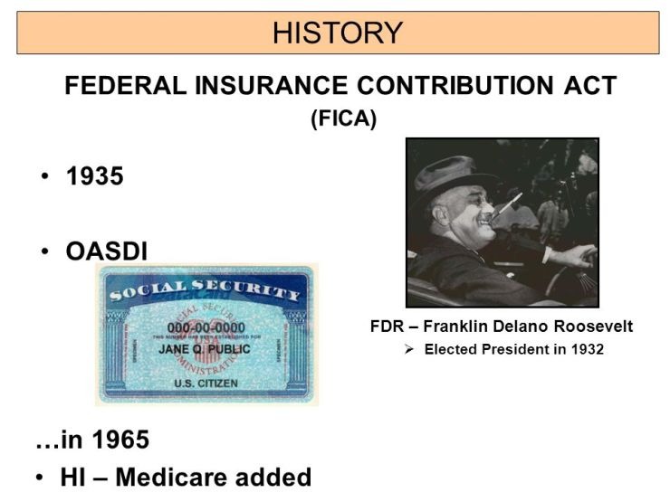 MERRY CHRISTMAS TO SOCIAL SECURITY ADMINISTRATION - KEEP THE TAX. HISTORY OF FEDERAL INSURANCE CONTRIBUTIONS ACT.