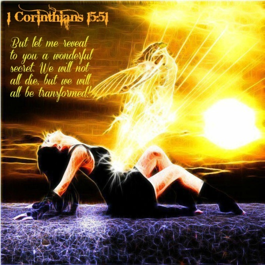 #25For25 NEW BEGINNING. WE ARE BORN NAKED WITH NATURAL BODIES. WE NEED TO CHANGE PERISHABLE INTO IMPERISHABLE. We will be changed in a flash, in the twinkling of an eye. 1 Corinthians 15:51.