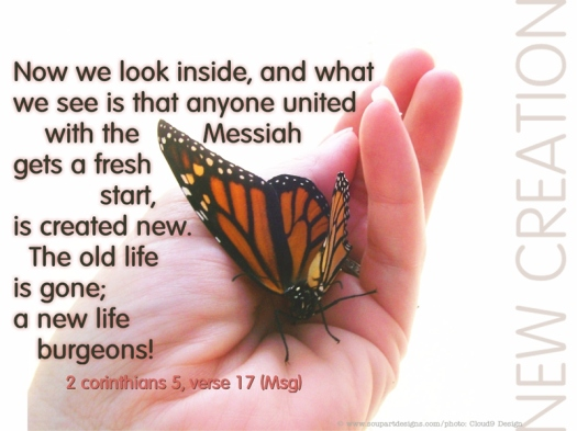#25For25 25-DAY SPRING CAMPAIGN FOR NEW BEGINNING, NEW CREATION, NEW ORDER OF DAILY EXISTENCE. LIFE BY SPIRIT. THE OLD HAS GONE, THE NEW HAS COME. 2 CORINTHIANS, 5:17.