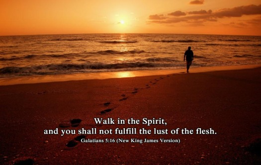 #25For25 NEW BEGINNING, FROM NATURAL TO SPIRITUAL EXISTENCE. LIFE BY THE SPIRIT. GALATIANS 5:16.