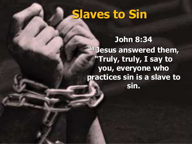 "KIM KARDASHIAN - RAISE HANDS - PRAISE THE LORD. JESUS REPLIED, ""I TELL YOU THE TRUTH, EVERYONE WHO SINS IS A SLAVE TO SIN."" JOHN 8:34"