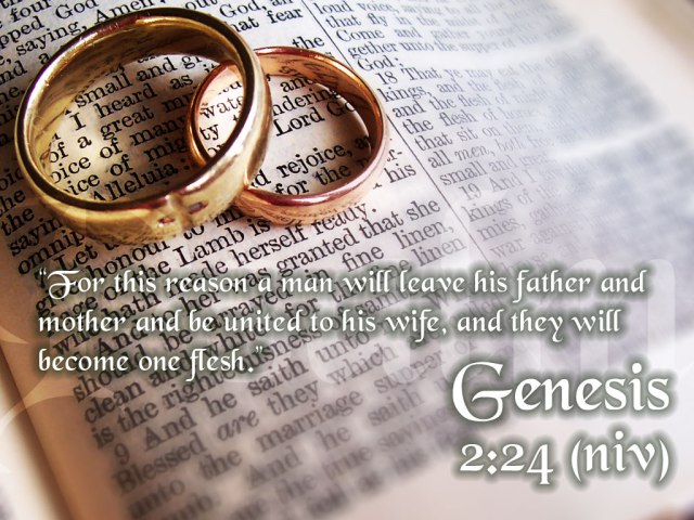 DISCOVERY OF EVE - BRIDE OF CHRIST. THE INTIMATE RELATIONSHIP BETWEEN MAN AND WOMAN TRANSCENDS RELATIONSHIP BETWEEN CHILDREN AND PARENTS. IF JESUS IS GIVEN 'BRIDE', HIS MARITAL RELATIONSHIP TRANSCENDS HIS RELATIONSHIP WITH HIS FATHER IN HEAVEN. GENESIS, 2:24.