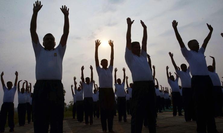 International Yoga Day-Man-Woman-God-Unity-8