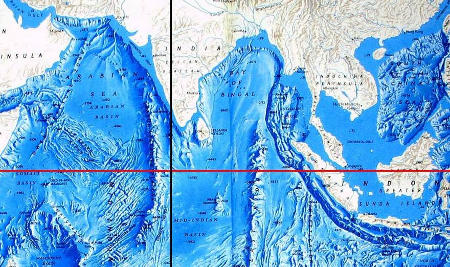 Bharat darshan ram setu law of proportionality whole for Another word for ocean floor