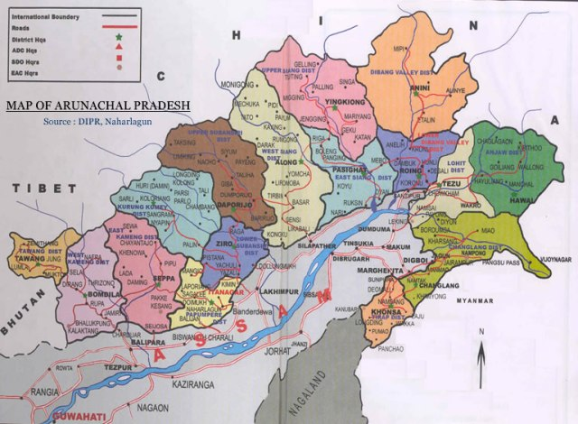 Arunachal Pradesh part of india