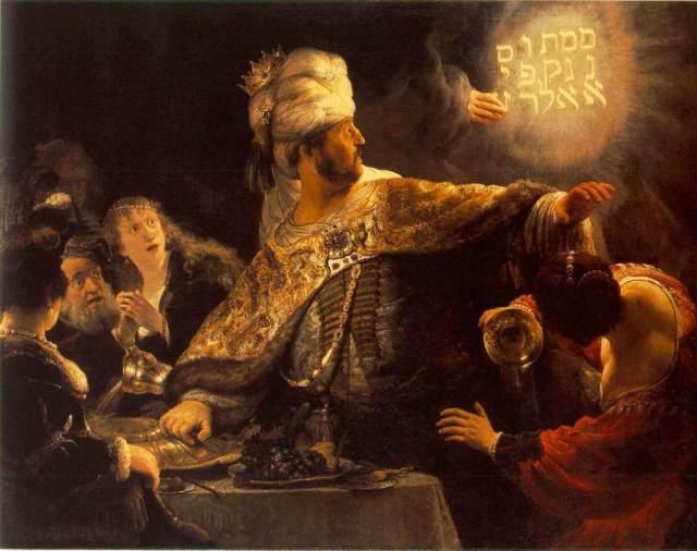 Doomed American Fantasy - The Writing On The Wall. Doomed King of Babylon. DANIEL 5.